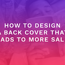 How To Design A Back Cover That Leads To More Sales
