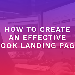 How To Create An Effective Book Landing Page