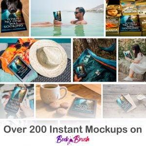 3d Book Mockups