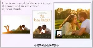 Cover Image on Book Brush